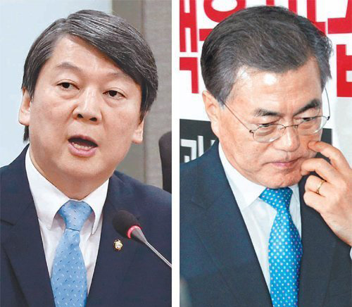 Supporters of Ahn's bolting from NPAD nearly double opponents