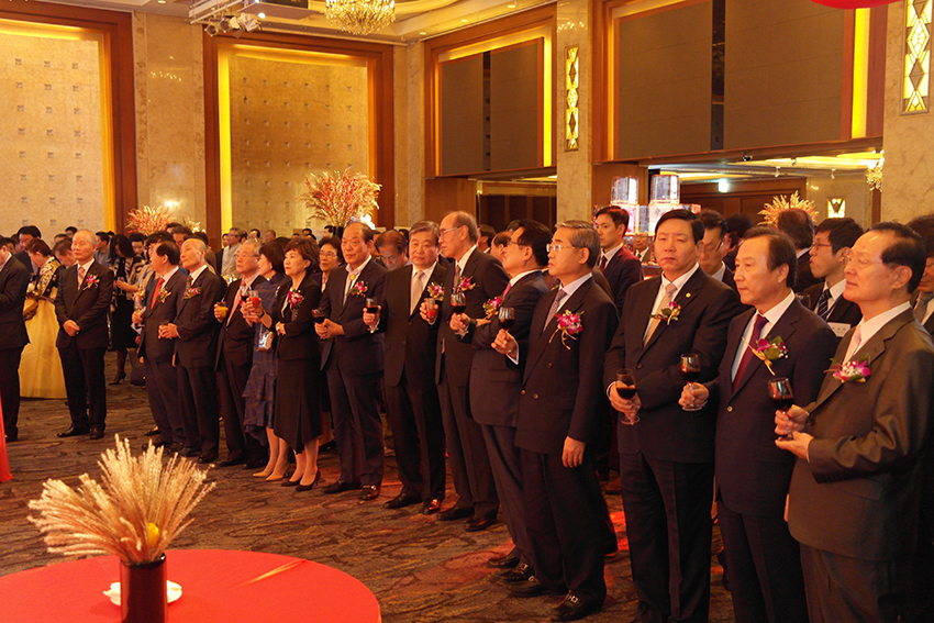 Ambassador Shih of the ROK hosts party to mark 105th Double Tenth Day