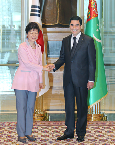 Development of cooperation between Turkmenistan and the Republic of Korea