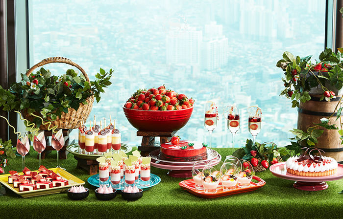 Sheraton Seoul D Cube City Hotel will showcase strawberry-themed desserts buffet
