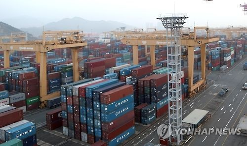 Dec. export prices rise 2.9 pct on weaker won