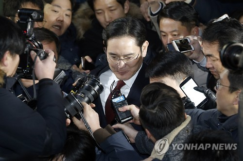 Samsung urges court not to approve arrest warrant against Lee