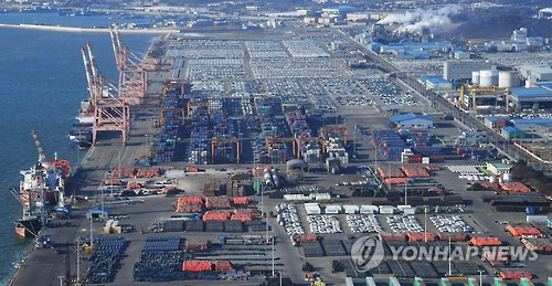 Korean exports rise 11.2% on-year in January