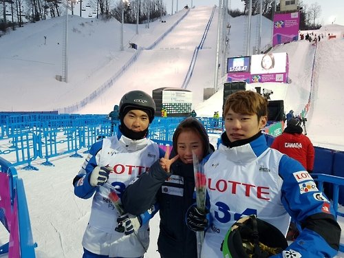 Two S. Korean aerial skiers call 1st World Cup in PyeongChang big lesson