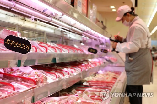 Imported beef sales rise sharply amid widespreading foot-and-mouth disease