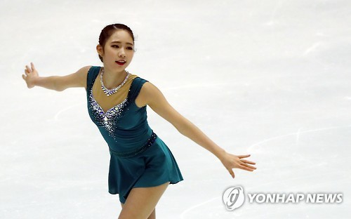 Figure skater looking to end S. Korean drought