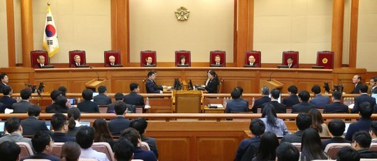Park accepts the decision of the Constitutional Court