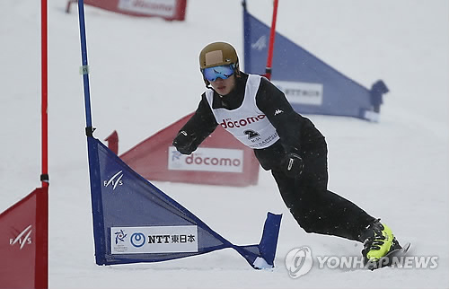 S. Korean snowboarder takes 5th place in parallel giant slalom at worlds