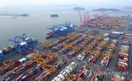 S. Korea's exports jump 13.7 pct in March