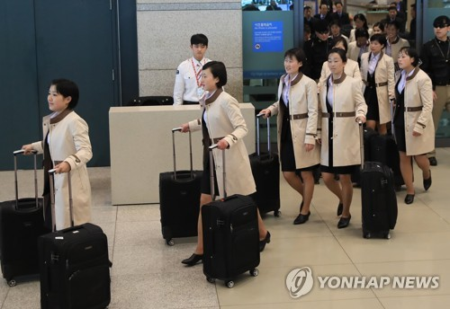 N. Korean women's hockey team arrives in S. Korea for int'l event