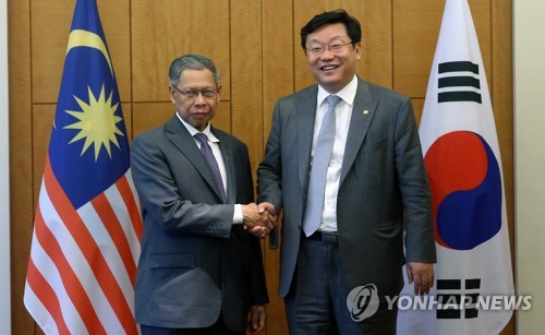 S. Korea asks Malaysia to help join high-speed rail link project