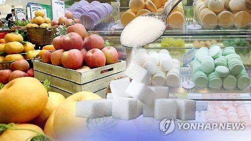 S. Korea's sugar consumption down 40 pct over 3 years