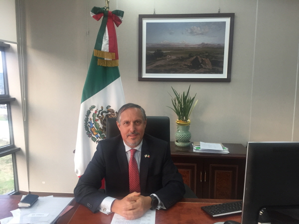 Ambassador Figueroa arrives in Seoul succeeding outgoing Ambassador Bernal