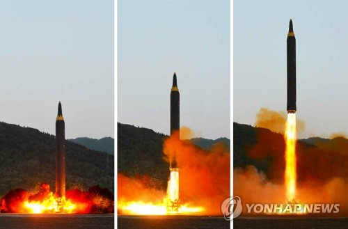 N.K. says its new ballistic missile can carry nuke warhead
