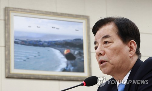 Han warns of pre-emptive strike in case of imminent N.K. missile attack