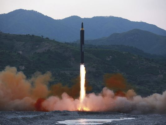 N.K. says its leader OKs deployment of new missile for action