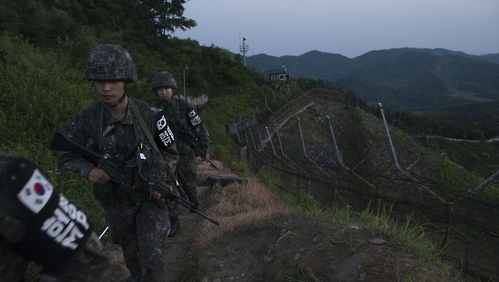 S. Korea says it fired warning shots at 'balloons' from North