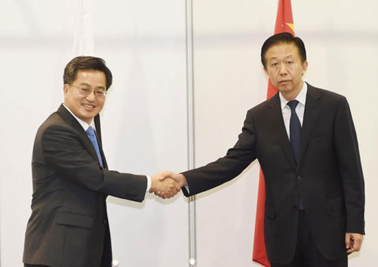 S. Korea fully backs China-led AIIB's efforts for sustainable infrastructure