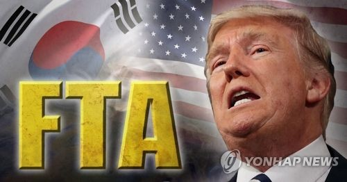 Moon, Trump to face showdown on FTA renegotiation