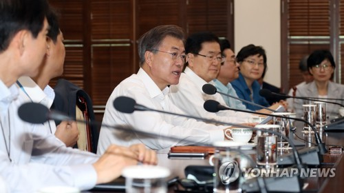 Moon welcomes minimum wage hike, vows support for small firms