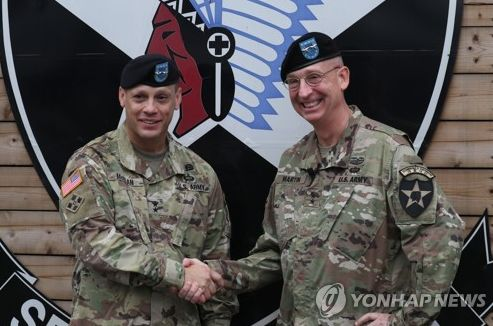 Change of command at 2nd Infantry Division