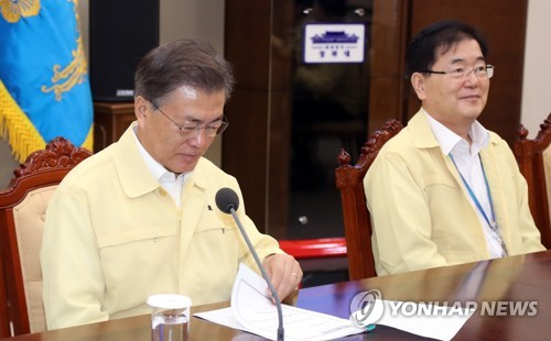 Moon orders show of 'overwhelming' force against N. Korean provocation