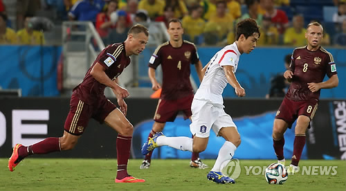 S. Korea to play friendly with 2018 World Cup hosts Russia in Oct.