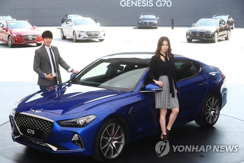 Genesis rolls out first entry-level G70 luxury sedan