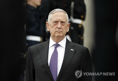 U.S. military options for N.K. would not put Seoul at grave risk: Mattis