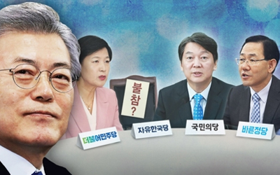Moon to meet ruling, opposition leaders over N. Korea late Wednesday
