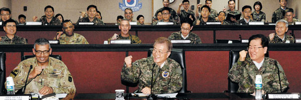 Who said President Moon Jae-in was not USFK-friendly?