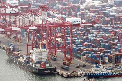 S. Korea's exports soar 35 pct in Sept. reach all-time high