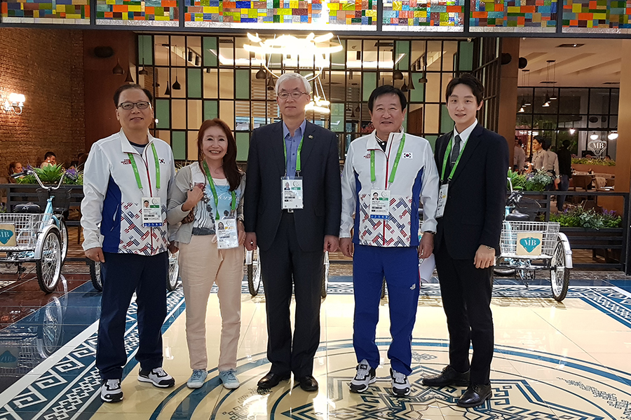 Korea places 7th in Ashgabat 2017 Indoor Martial Arts meet in medal count