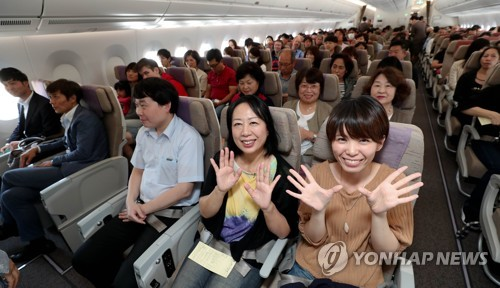 Air passenger traffic in S. Korea rises 4.7 pct in September