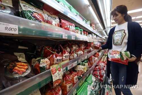 Sales of packaged kimchi expected to grow 9.6 pct in 2017