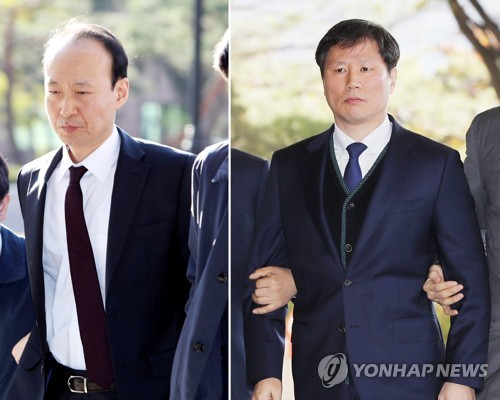 Prosecutors seek arrest warrants for two Park aides over bribery