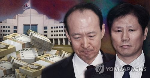 Two former Park aides arrested over bribery