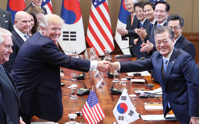 Trump says Seoul's purchase of U.S. military equipment will help reduce trade deficit