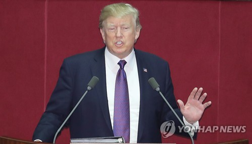 Trump condemns brutal dictatorship of N.K., warns it not to 'underestimate us'