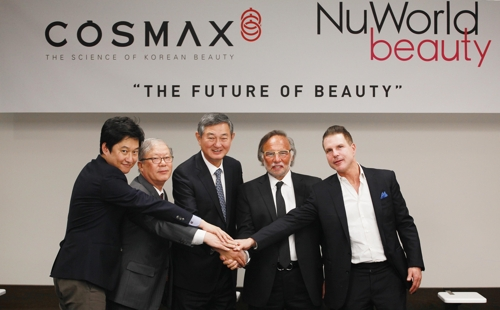 Korean cosmetics maker buys U.S. firm for US$50 mln