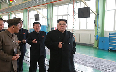 NK leader: Sanctions make our workers' spirit stronger
