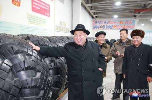 NK leader: No barrier for our weapons program