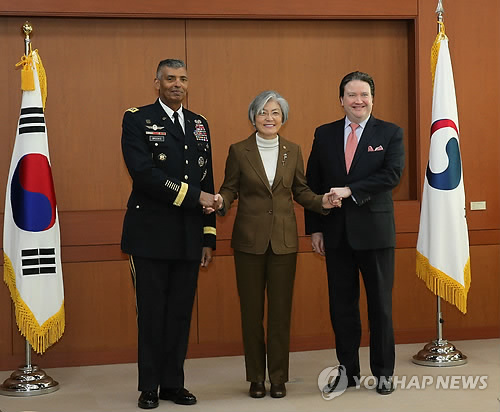 FM reaffirms inter-Korean dialogue won't go separately from denuclearization efforts