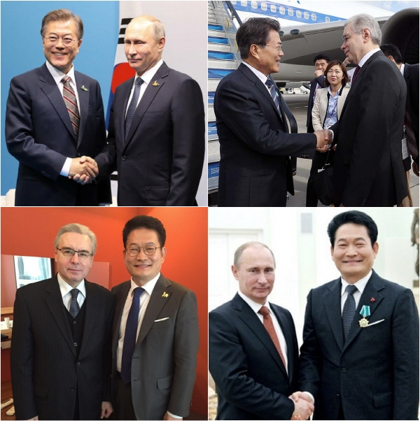 Relations and cooperation between Korea and Russia continue to grow