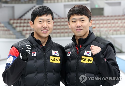 S. Korea's twin curlers share golden dream for Olympics