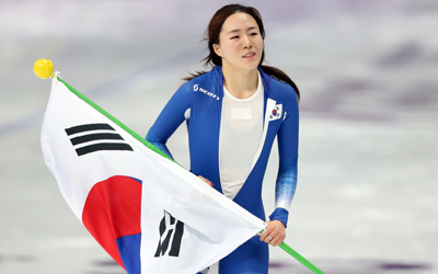 S. Korea's Lee Sang-hwa wins silver in women's 500m speed skating