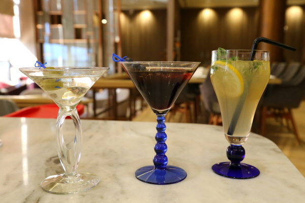 Pyeongchang-themed cocktails showcased