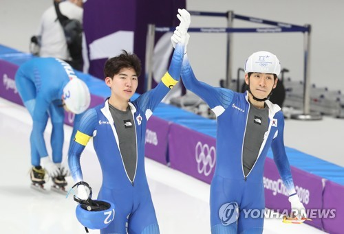 S. Korea's Lee Seung-hoon wins first gold in men's mass start speed skating