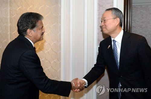 S. Korea seeks to forge stronger economic ties with India