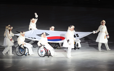PyeongChang Paralympics kicks off with ceremony highlighting passion, coexistence